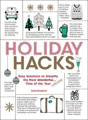 Holiday Hacks: Easy Solutions to Simplify the Most Wonderful Time of the Year de Keith Bradford