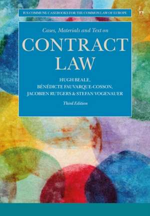 Cases, Materials and Text on Contract Law imagine