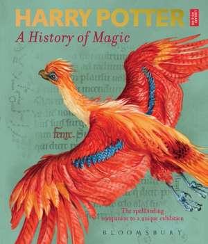 Harry Potter A History of Magic de British Library
