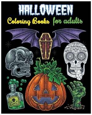Halloween Coloring Books for Adults de Rosetta Hazel