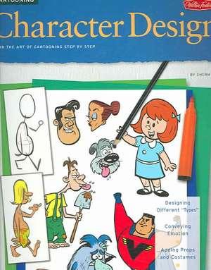 Character Design Cartooning de Walter Foster Publishing