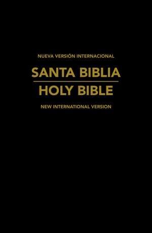 NVI/NIV Biblia Bilingue Español-Inglés de Zondervan