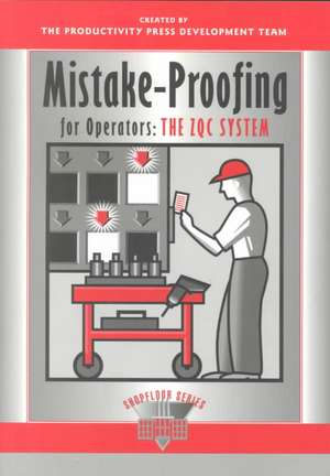 Mistake-Proofing for Operators de Productivity Press Development Team