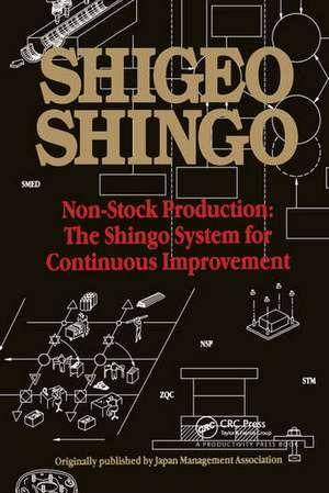 Non-Stock Production de Shigeo Shingo