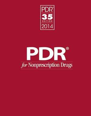 PDR for Nonprescription Drugs