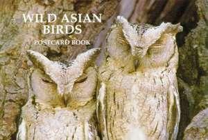 Wild Asian Birds Postcard Book de Art Wolfe