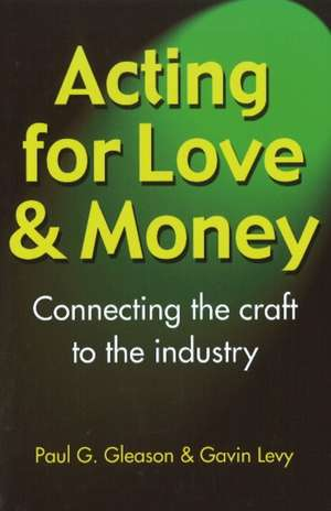 Acting for Love and Money imagine