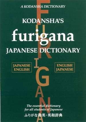 Kodansha's Furigana Japanese Dictionary de Masatoshi Yoshida