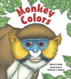 Monkey Colors de Darrin Lunde