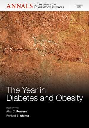 The Year in Diabetes and Obesity, Volume 1281