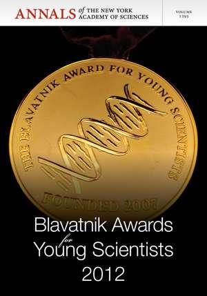Blavatnik Awards for Young Scientists 2012, Volume 1293