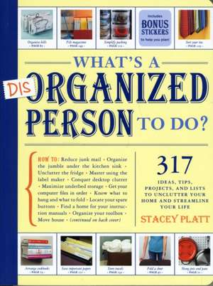 What's a Disorganized Person to Do? de Stacey Platt