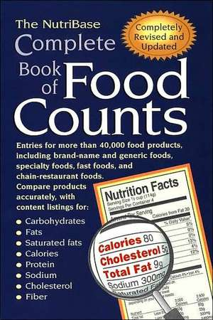 The Nutribase Complete Book of Food Counts 2nd Ed. de  Nutribase