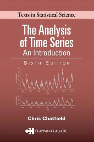 The Analysis of Time Series imagine