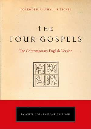The Four Gospels:  The Contemporary English Version de American Bible Society