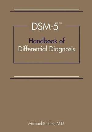 DSM-5TM Handbook of Differential Diagnosis imagine