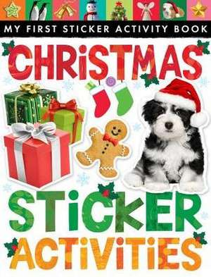Christmas Sticker Activities [With Sticker(s)] de Tiger Tales