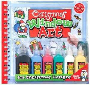 Klutz Christmas Window Art