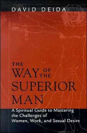 The Way of the Superior Man:  A Spiritual Guide to Mastering the Challenges of Women, Work, and Sexual Desire de David Deida