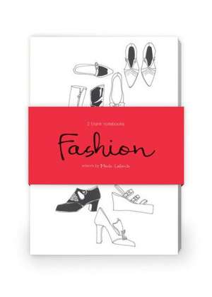 Fashion Illustration Artwork by Maite Lafuente Journal Collection 1:  Set of Two 64-Page Notebooks de Maite Lafuente