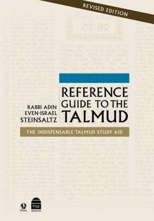 Reference Guide to the Talmud imagine