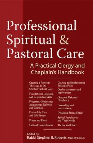 Professional Spiritual & Pastoral Care imagine