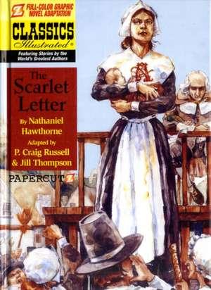 Classics Illustrated #6: The Scarlet Letter de Nathaniel Hawthorne