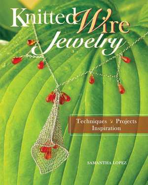 Knitted Wire Jewelry: Techniques, Projects, Inspriration