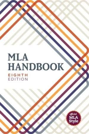 MLA Handbook de  Modern Language Association