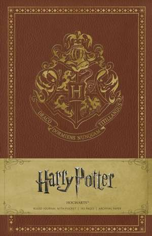 Harry Potter Hogwarts Hardcover Ruled Journal de Warner Bros.