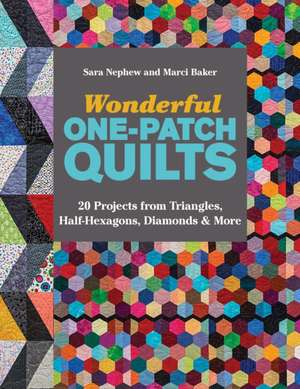 Wonderful One-Patch Quilts de Sara Nephew