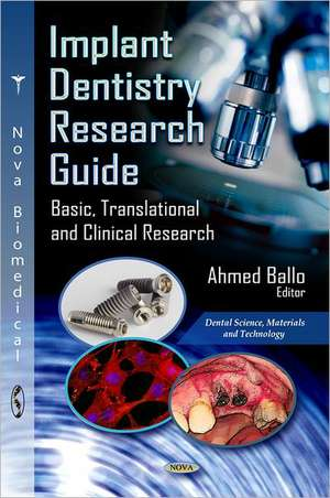 Implant Dentistry Research Guide