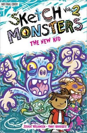Sketch Monsters Book 2: The New Kid de Joshua Williamson