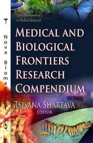 Medical & Biological Frontiers Research Compendium