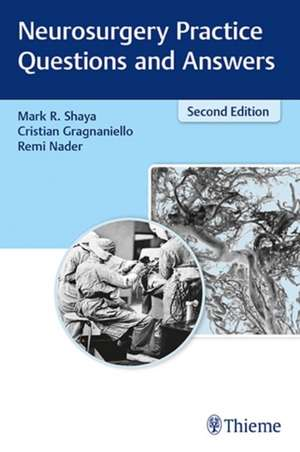 Neurosurgery Practice Questions and Answers de Cristian Gragnaniello