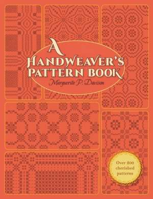 HANDWEAVERS PATTERN BK R/E