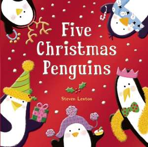 Five Christmas Penguins de Steven Lenton