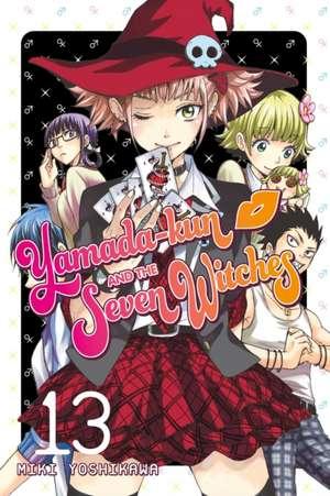 Yamada-kun & The Seven Witches 13 de Miki Yoshikawa