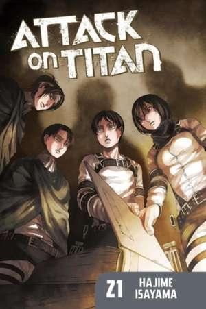 Attack On Titan 21 de Hajime Isayama