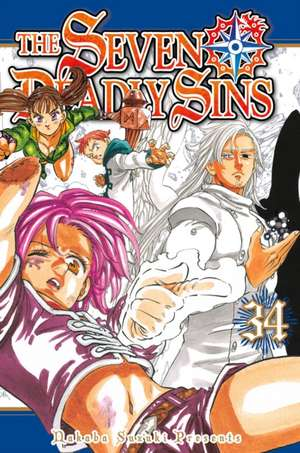 The Seven Deadly Sins 34 de Nakaba Suzuki