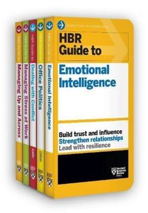 HBR Guides to Emotional Intelligence at Work Collection (5 Books) (HBR Guide Series) de Harvard Business Review