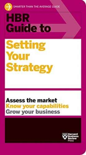 HBR Guide to Setting Your Strategy imagine