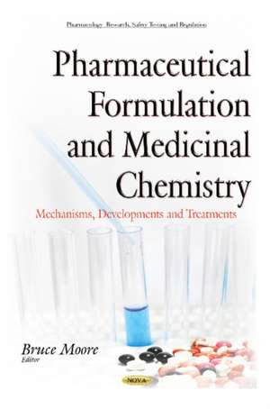 Pharmaceutical Formulation & Medicinal Chemistry