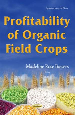 Profitability of Organic Field Crops imagine