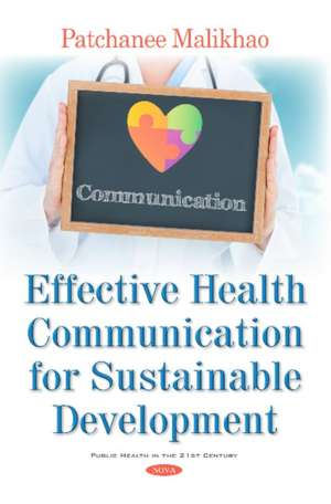Effective Health Communication for Sustainable Development