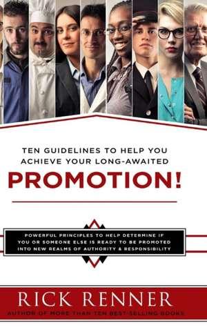 Promotion de Rick Renner