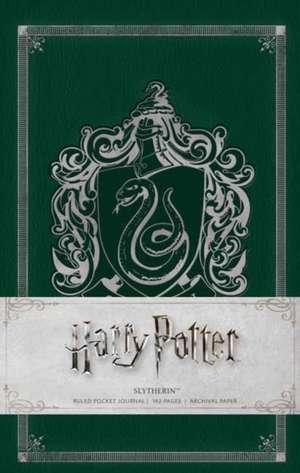 Harry Potter Slytherin Pocket Journal (Harry Potter Journals)  de INSIGHT EDITIONS