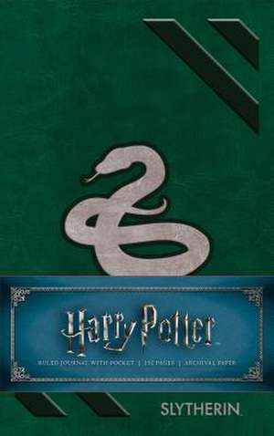 Harry Potter: Slytherin Ruled Pocket Journal de  Insight Editions