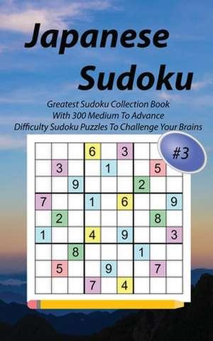 Japanese Sudoku #3 de Masaki Hoshiko
