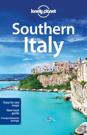 Lonely Planet Southern Italy:  Western Europe de Planet Lonely
